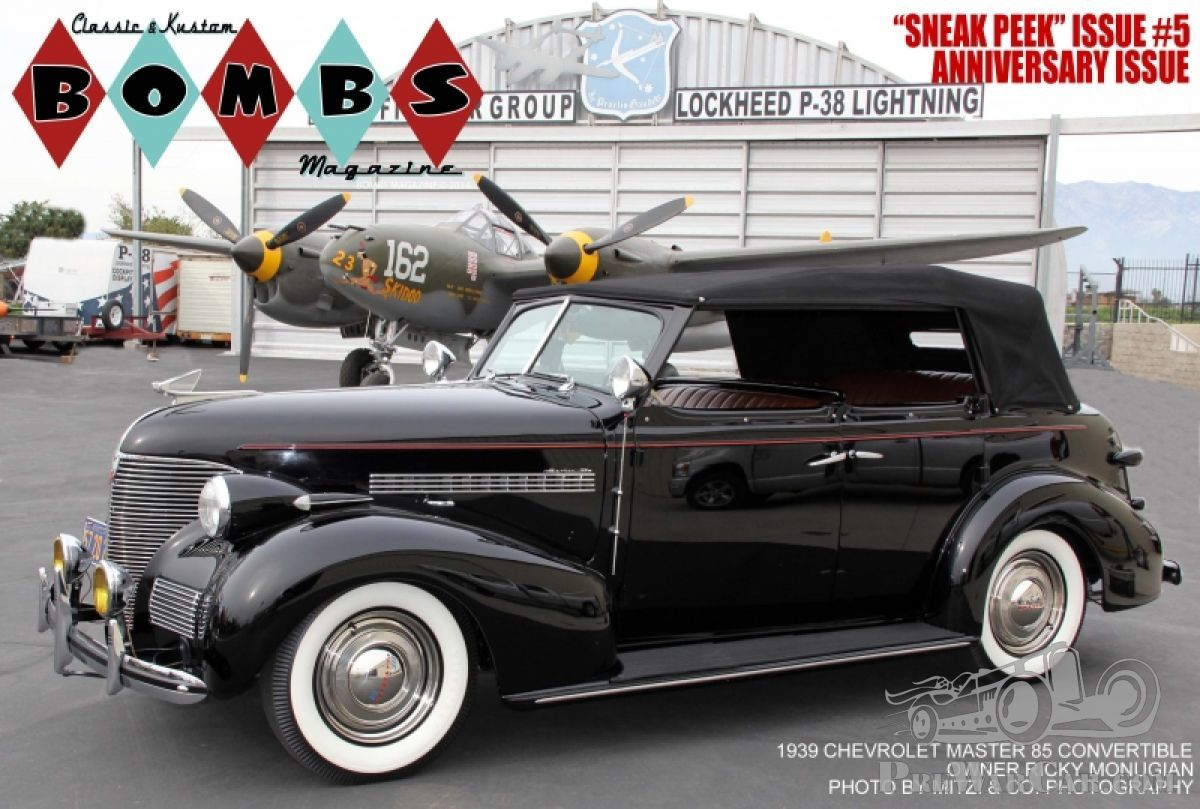 The 1939 Chevrolet Master 85 'Bombs' Mystery - PreWarCar