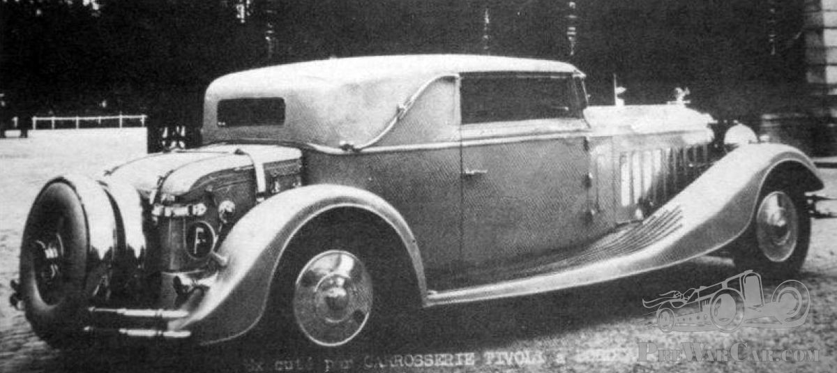 A high end Tivoli Mystery ( update: Isotta, Tatra, Packard, Delage ...
