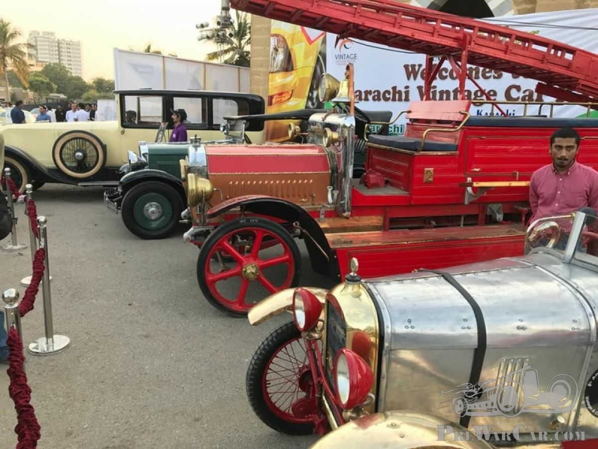 A Cross Country Pakistan adventure in a 1922 Amilcar - PreWarCar