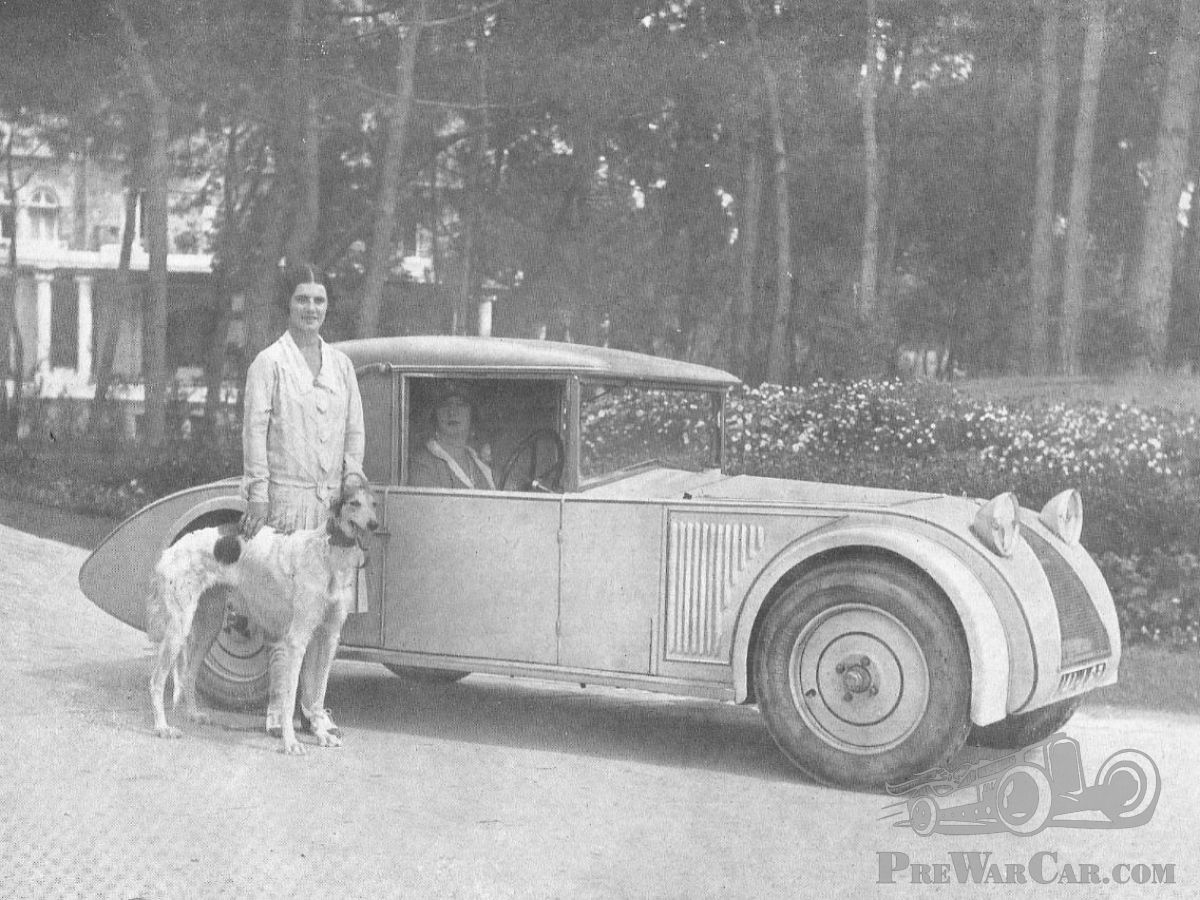 Want to look stylish? Add a Borzoi (or two) - PreWarCar