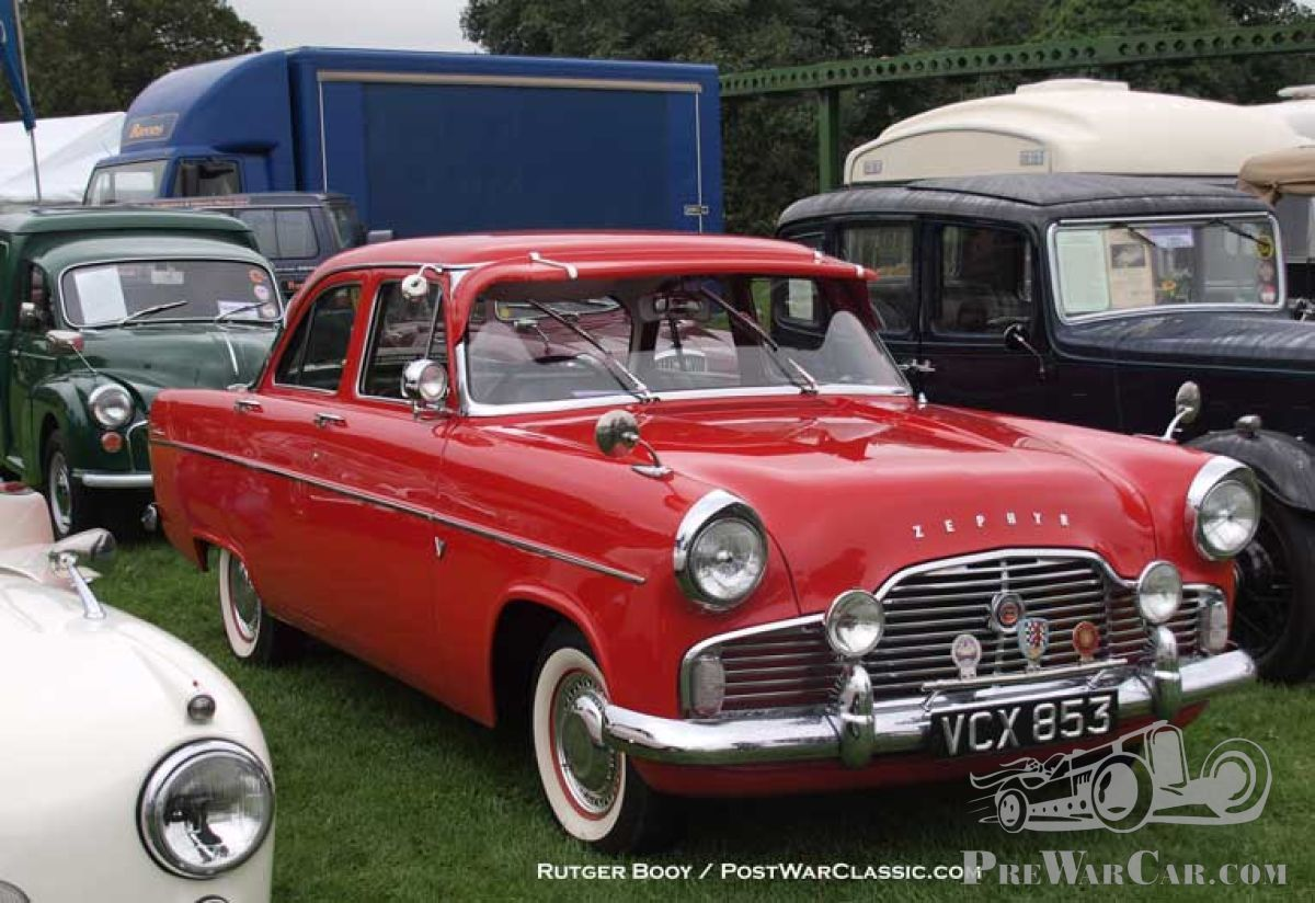 Spotlight On Ford Zephyr Update 1954 Daimler Conquest