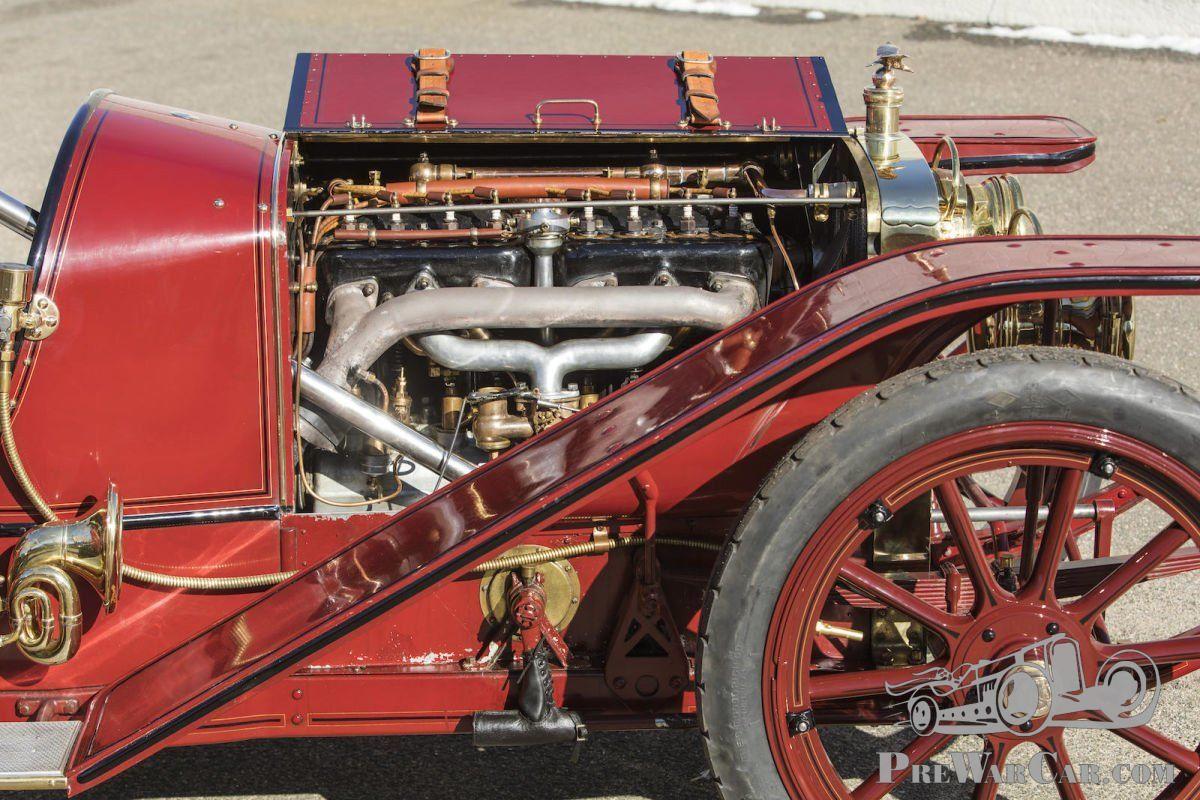 Back to back: 1907 American Underslung vs 1907 Renault - PreWarCar