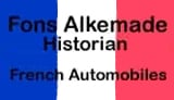 Fons Alkemade - French automobiles
